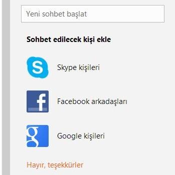 Skype for Outlook.com Ekran Görüntüleri - 2