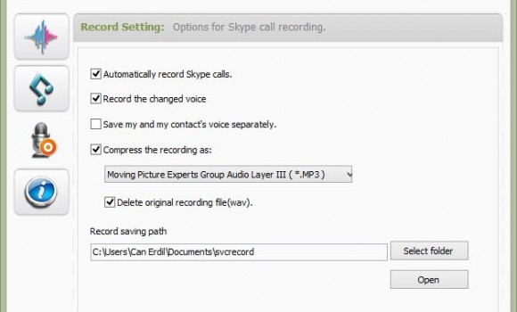 Skype Voice Changer Ekran Görüntüleri - 1