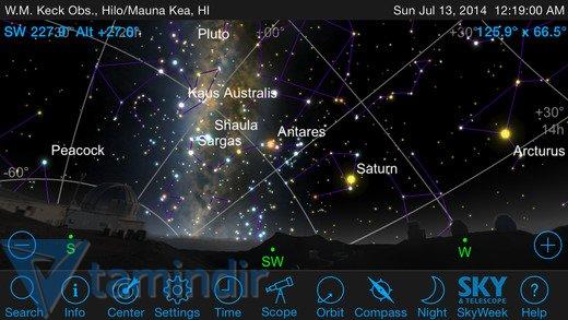 SkySafari 4 Pro Ekran Görüntüleri - 5