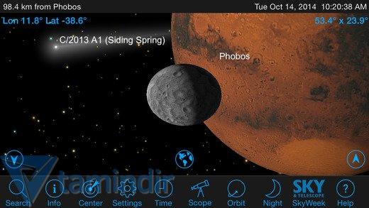 SkySafari 4 Pro Ekran Görüntüleri - 3