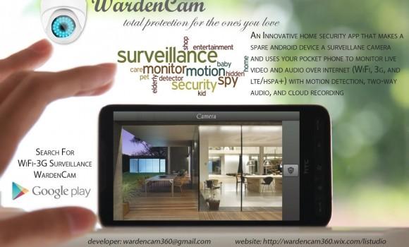 Smart Home Security WardenCam Ekran Görüntüleri - 11