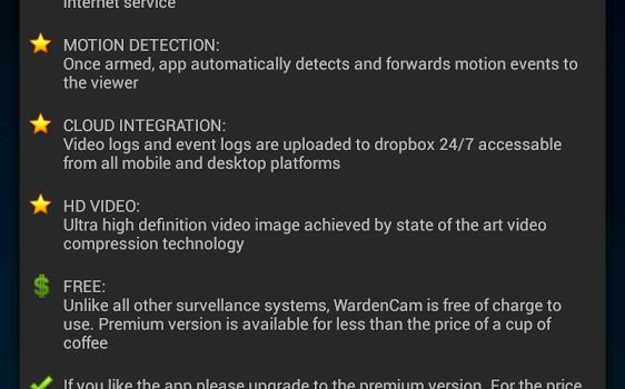 Smart Home Security WardenCam Ekran Görüntüleri - 7