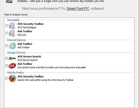 Smart Toolbar Remover Ekran Görüntüleri - 1