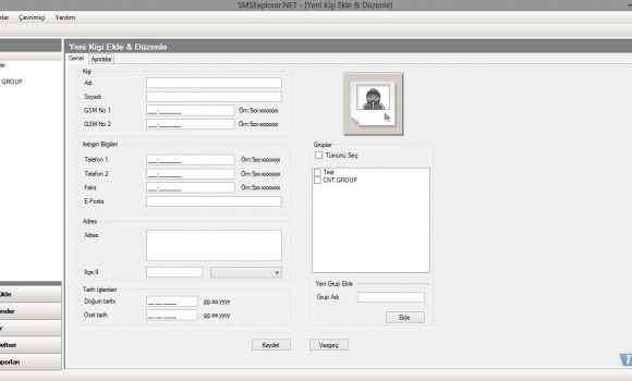Smsexplorer.NET Ekran Görüntüleri - 4