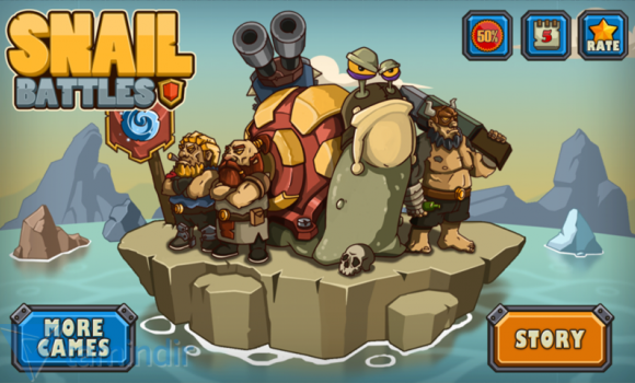 Snail Battles Ekran Görüntüleri - 5