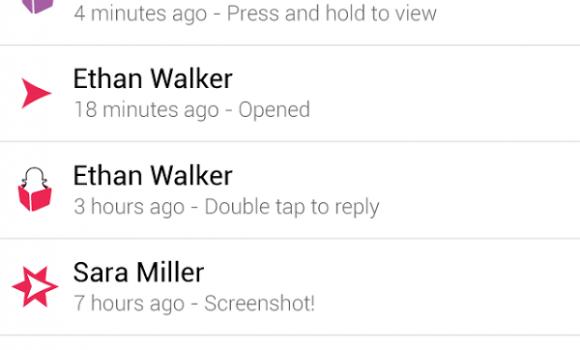 Snapchat Ekran Görüntüleri - 2