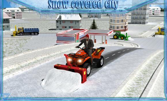 Snow Blower Truck Sim 3D Ekran Görüntüleri - 5