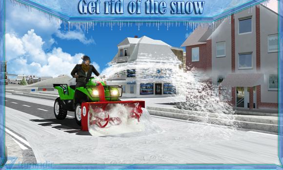 Snow Blower Truck Sim 3D Ekran Görüntüleri - 3