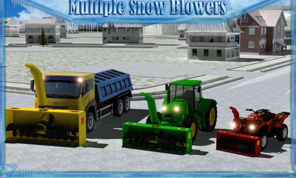 Snow Blower Truck Sim 3D Ekran Görüntüleri - 2