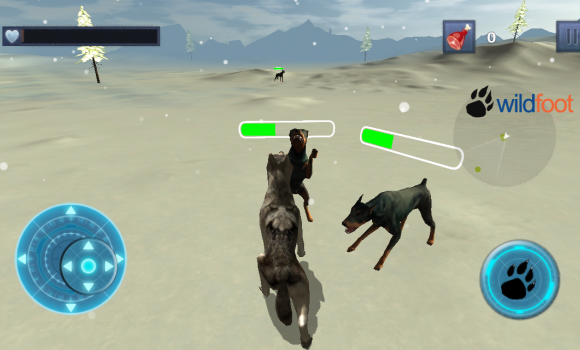 Snow Dog Survival Simulator Ekran Görüntüleri - 3