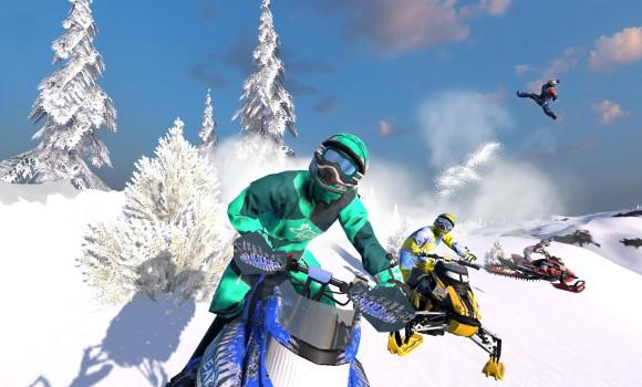 Snow Moto Racing Freedom Ekran Görüntüleri - 5