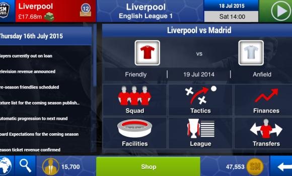 Soccer Manager 2015 Ekran Görüntüleri - 3