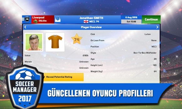Soccer Manager 2017 Ekran Görüntüleri - 4