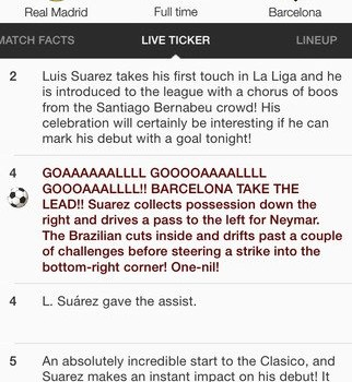 Soccer Scores Ekran Görüntüleri - 3