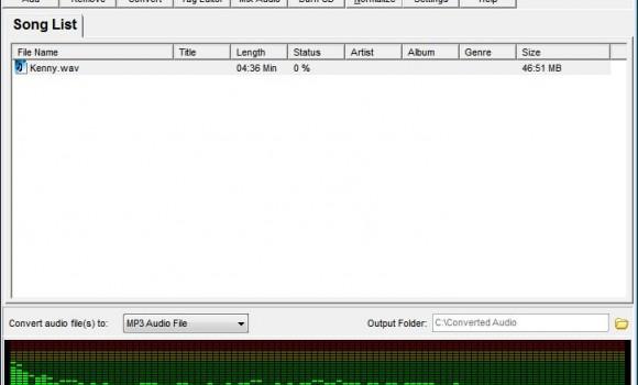 Softdiv MP3 to WAV Converter Ekran Görüntüleri - 5