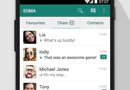 SOMA Messenger Ekran Görüntüleri - 4