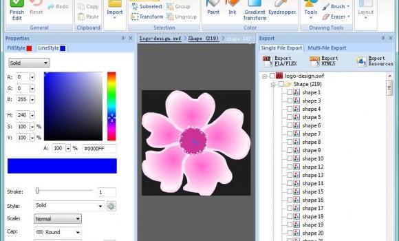 Sothink SWF Decompiler Ekran Görüntüleri - 1