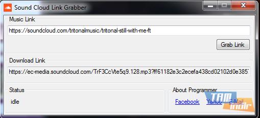 Sound Cloud Link Grabber Ekran Görüntüleri - 1