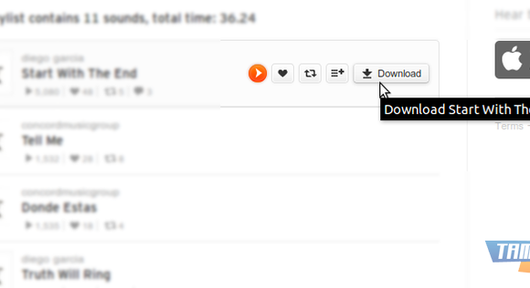 SoundCloud Downloader for Firefox Ekran Görüntüleri - 1