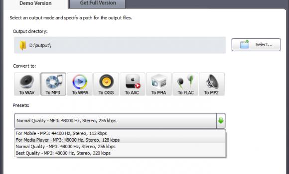 SoundTurn Audio Converter Ekran Görüntüleri - 3