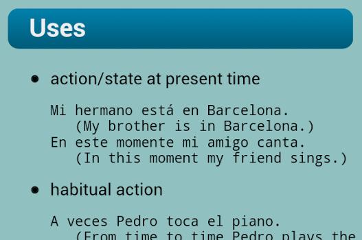 Spanish Verbs Ekran Görüntüleri - 1