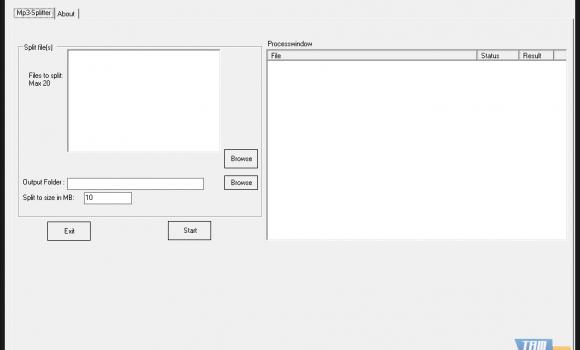 Split Mp3 files Ekran Görüntüleri - 1