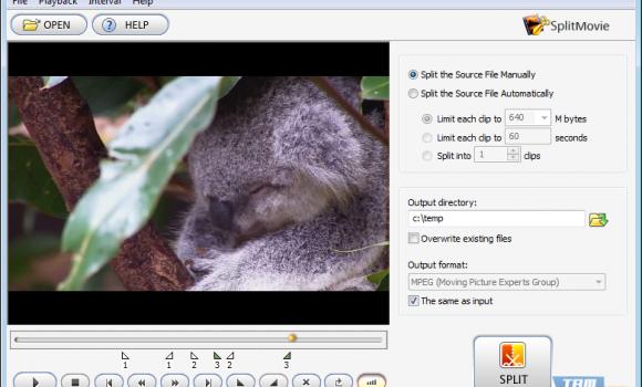SplitMovie Ekran Görüntüleri - 2