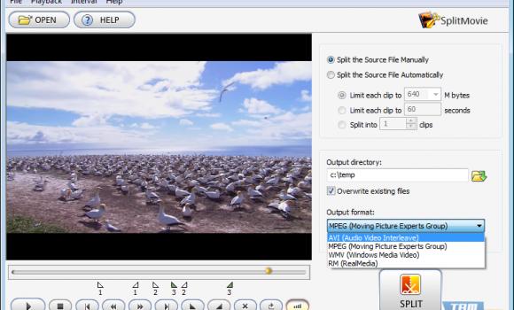 SplitMovie Ekran Görüntüleri - 1