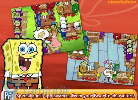 SpongeBob Diner Dash Ekran Görüntüleri - 5