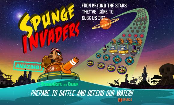 Spunge Invaders Ekran Görüntüleri - 5