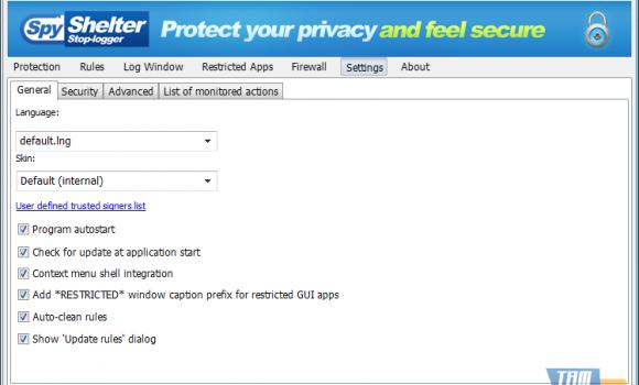 SpyShelter Firewall Ekran Görüntüleri - 4