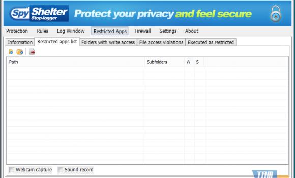 SpyShelter Firewall Ekran Görüntüleri - 5