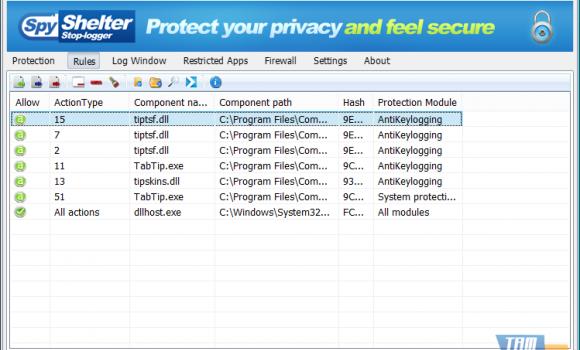 SpyShelter Firewall Ekran Görüntüleri - 6