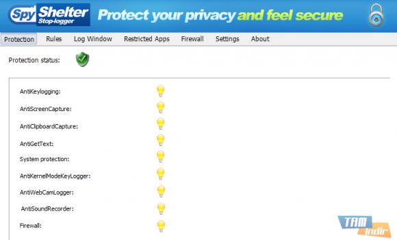 SpyShelter Personal Free Ekran Görüntüleri - 1