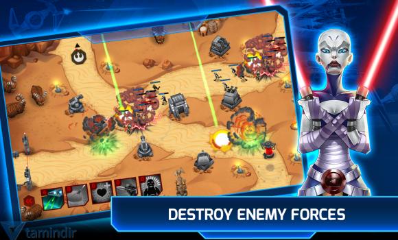 Star Wars: Galactic Defense Ekran Görüntüleri - 2