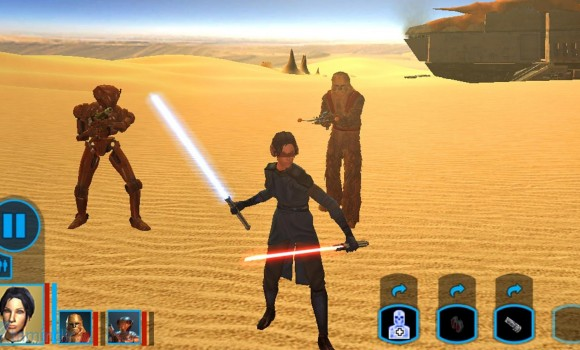 Star Wars: Knights of the Old Republic Ekran Görüntüleri - 3