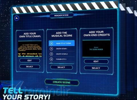Star Wars Scene Maker Ekran Görüntüleri - 2