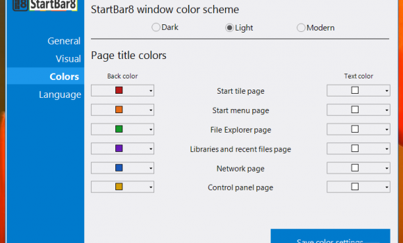 StartBar8 Ekran Görüntüleri - 1