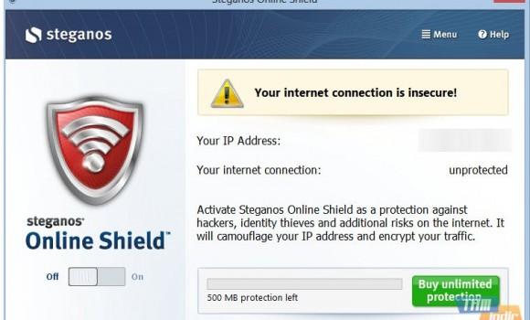 Steganos Online Shield Ekran Görüntüleri - 3