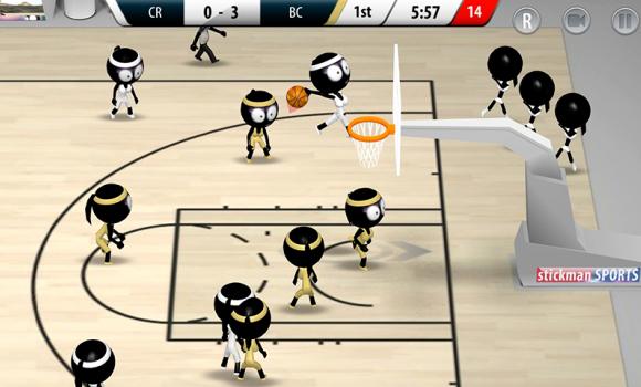 Stickman Basketball 2017 Ekran Görüntüleri - 3