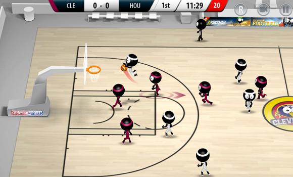 Stickman Basketball 2017 Ekran Görüntüleri - 2