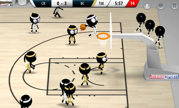 Stickman Basketball 2017 Ekran Görüntüleri - 5