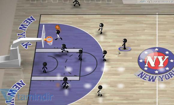 Stickman Basketball Ekran Görüntüleri - 5
