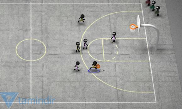 Stickman Basketball Ekran Görüntüleri - 1