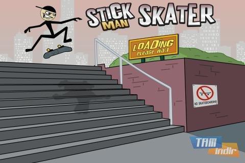 Stickman Skater Free Ekran Görüntüleri - 5