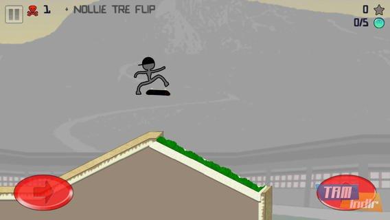 Stickman Skater Free Ekran Görüntüleri - 1