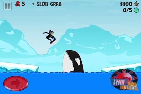 Stickman Snowboarder Ekran Görüntüleri - 2