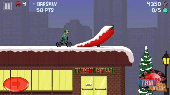 Stickman Snowboarder Ekran Görüntüleri - 1