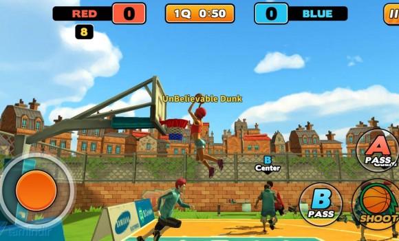 Street Dunk 3 on 3 Basketball Ekran Görüntüleri - 3