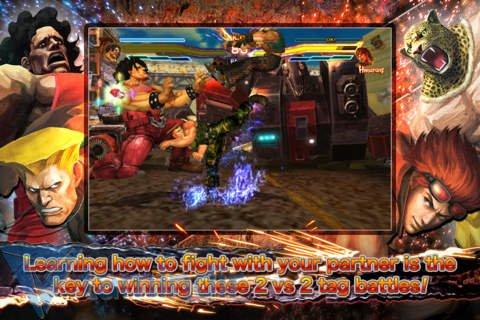 STREET FIGHTER X TEKKEN MOBILE Ekran Görüntüleri - 4